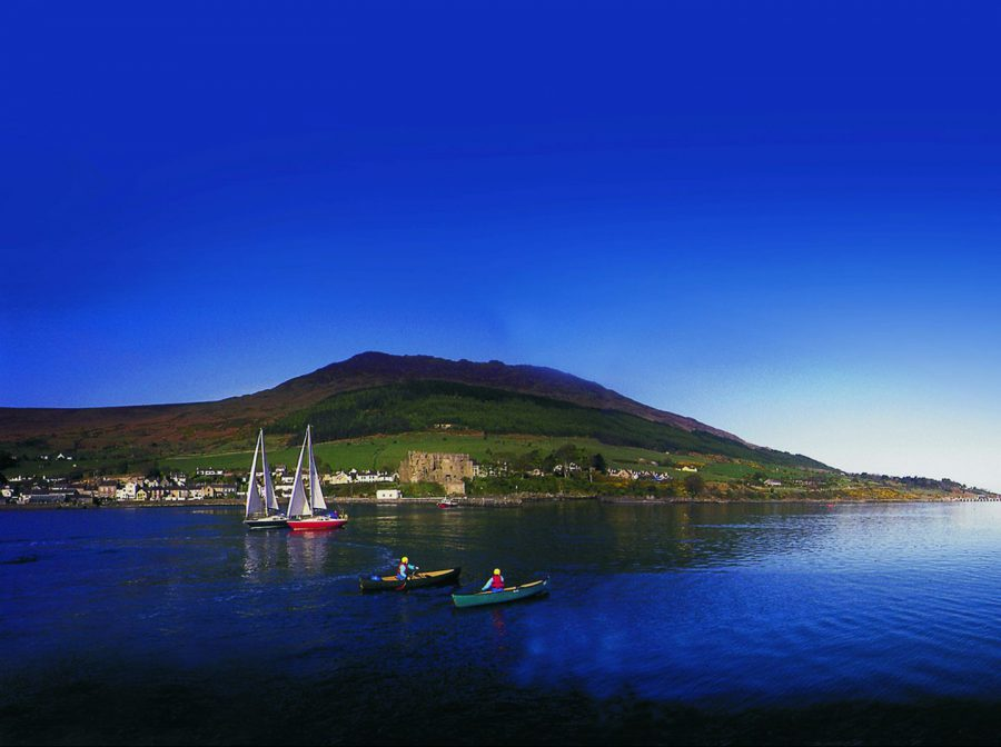 Slieve Foy and Carlingford Lough